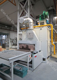 Industrial 730 Kw Aluminum Brazing Furnace 7m3/H Cooling Water Consumption